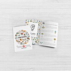Nombreuses options disponibles 1 plis, 2 plis, 3 plis, fin, épais... brochure A5 16