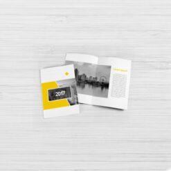 Nombreuses options disponibles 1 plis, 2 plis, 3 plis, fin, épais... brochure A6 15