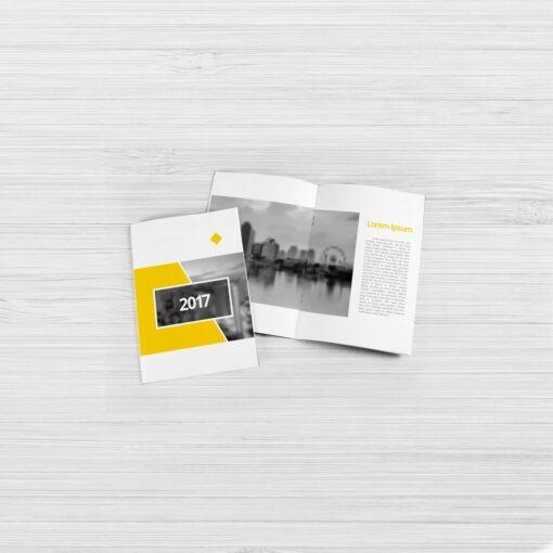 Nombreuses options disponibles 1 plis, 2 plis, 3 plis, fin, épais... brochure A6 7