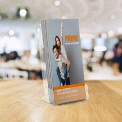 Livraison économique offerte dès 40€ HT flyers presentoire 1 7