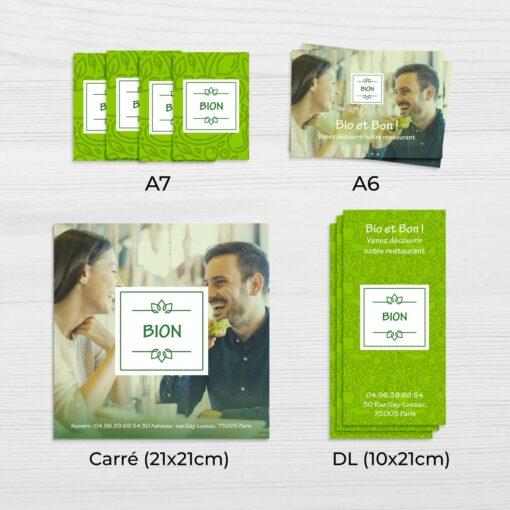 Economique ou express en 4h Nombreux formats et épaisseurs format2 1 3