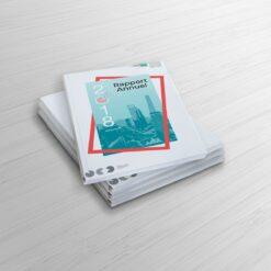 Notre imprimerie vient de réouvrir et est désormais pleinement opérationnelle.  rapport annuel 1 39