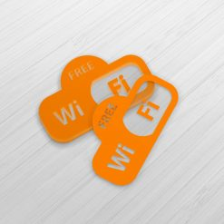 Livrés en planches décollage facile des autocollants wifi2 13