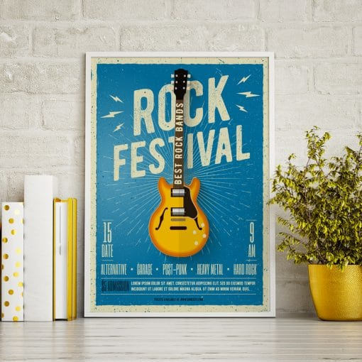 Poster idéal pour décoration d'intérieur stock photo white mock up frame hipster background d rendering 359281547 1