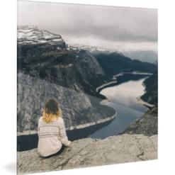 Plexiglas - verre acrylique - format carré
