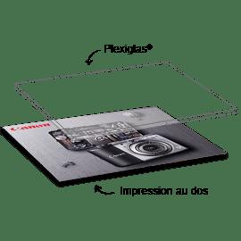 Plexiglas - verre acrylique - Technique d'impression