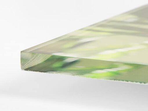 Plexiglas - verre acrylique - Transparence