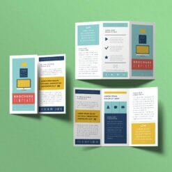 Nombreuses options disponibles 1 plis, 2 plis, 3 plis, fin, épais... pli porte feuille 3 volet 1 11