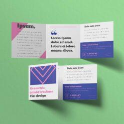 Nombreuses options disponibles 1 plis, 2 plis, 3 plis, fin, épais... pli porte feuille 3 volet 2 12