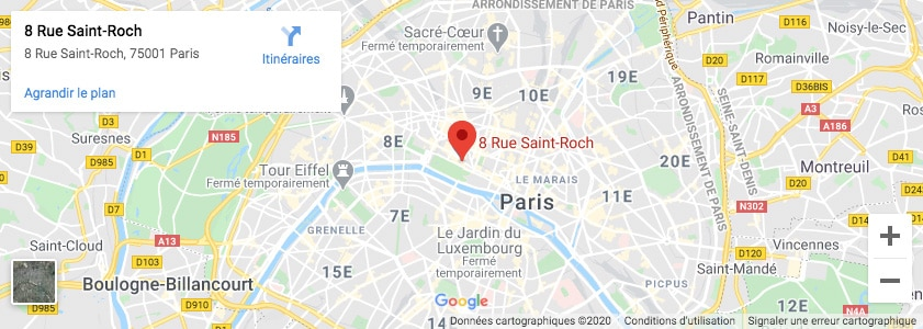 Plan Paris Imprimerie Copymage