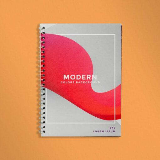 Des books de formation résistants avec ouverture 100% à plat. 2 a4 reliure metal 1